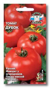 томат дубок фото спелых плодов