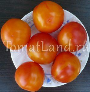 томат ананасный туман