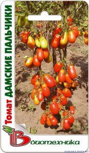 томаты дамские пальчики фото спелых плодов