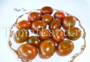 томаты дунай, дануба, фото спелых плодов