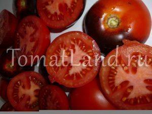помидоры красный уголь