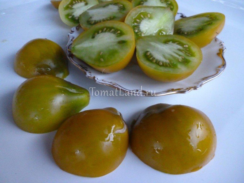 помидоры зеленая груша чероки