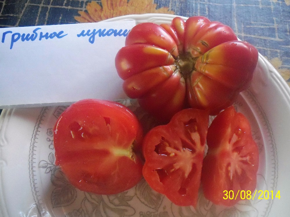 помидор Грибное лукошко