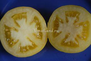 вкусные желтые помидоры