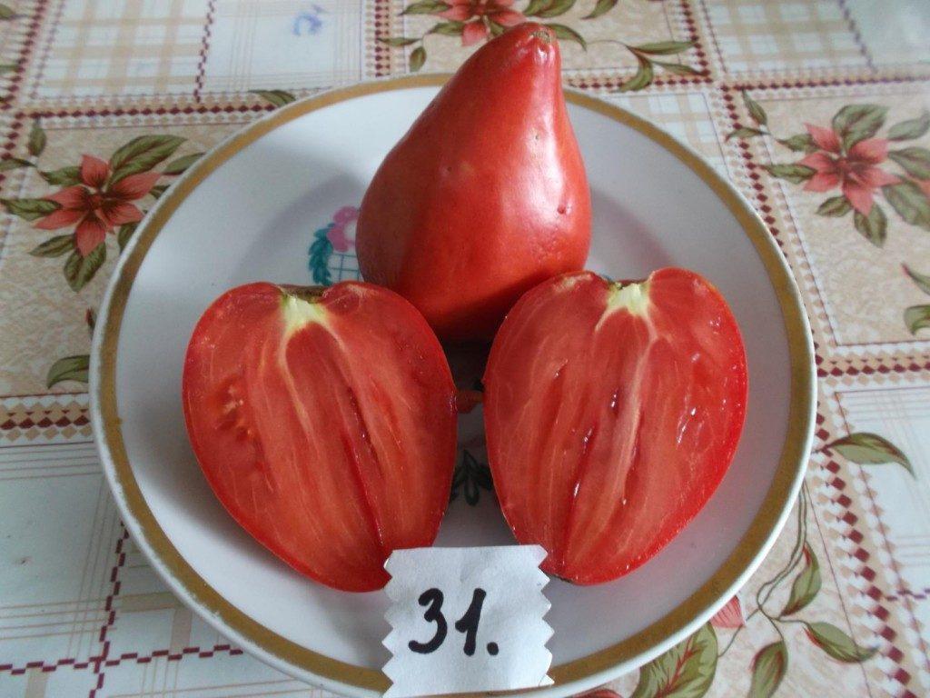 помидоры розовый шлем фото спелых плодов