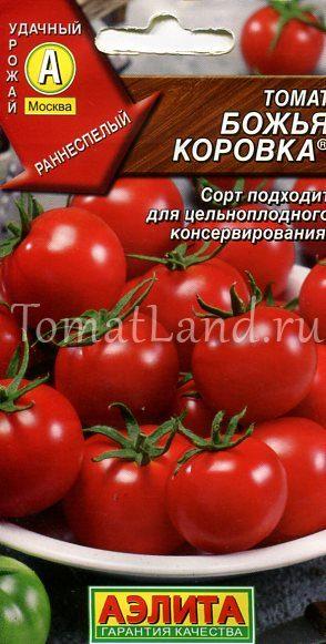 помидоры божья коровка фото