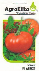 помидоры Дебют фото спелых плодов