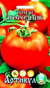 помидоры огородник фото спелого плода