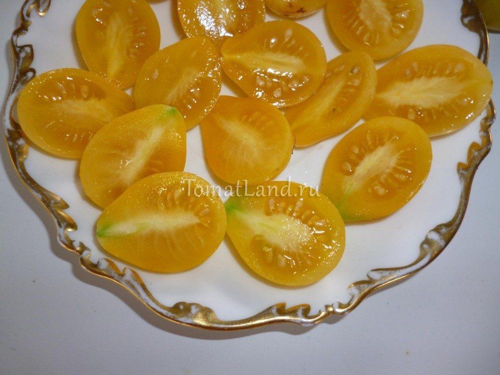 томат белый мускат фото в разрезе