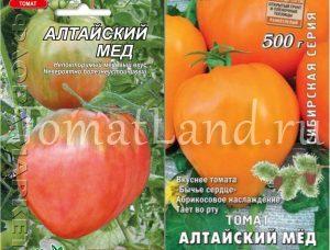 томаты алтайский мед фото