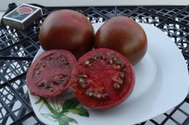 помидоры черный барон фото отзывы