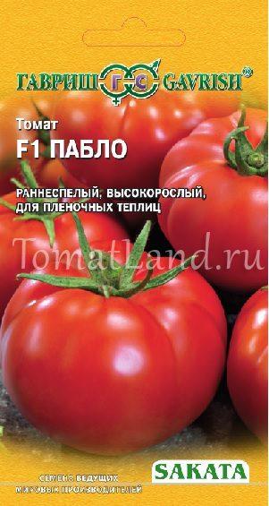 томаты пабло отзывы фото характеристика