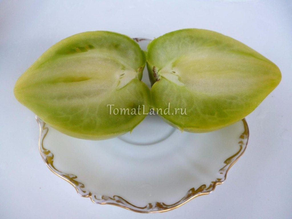 томаты зеленое сердце фото