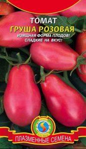 помидоры груша розовая фото