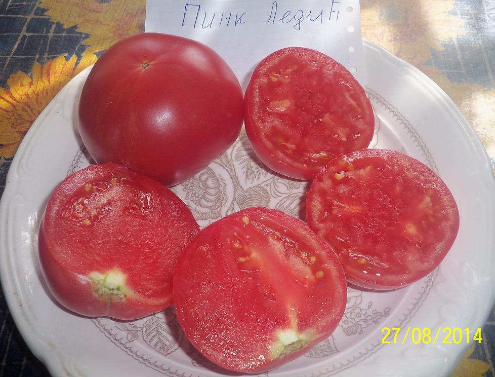 помидоры Пинк Леди фото