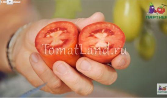 томаты царское искушение в разрезе фото