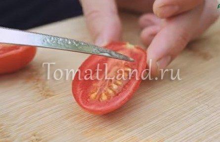 томат джек пот в разрезе фото